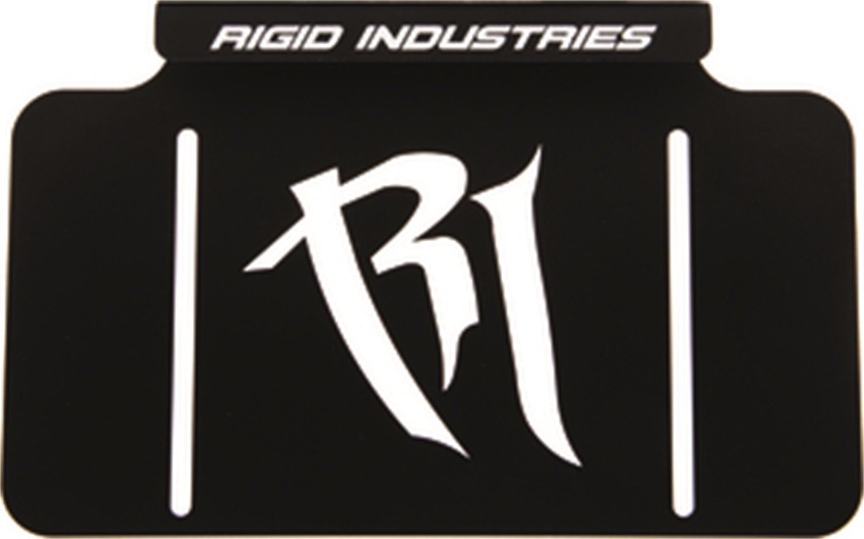 Rigid Industries 40016 License Plate Mount
