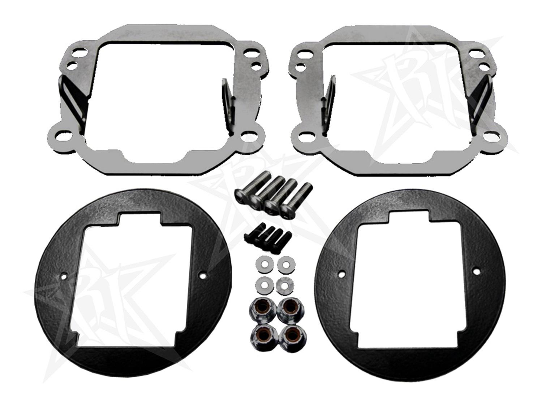 Rigid Industries 40138 Fog Light Replacement Kit Fits 07-18 Wrangler (JK)