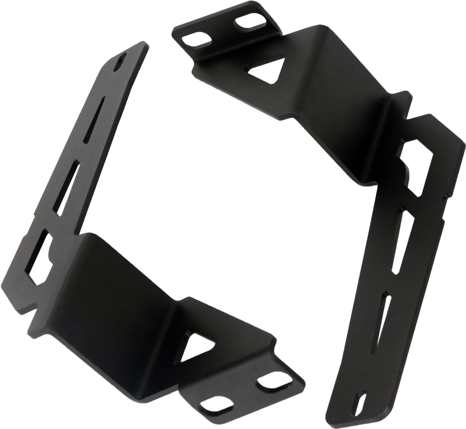 Bumper Mount Kit, 30 in., SR-Series, Black, Incl. Mounts/Hardware