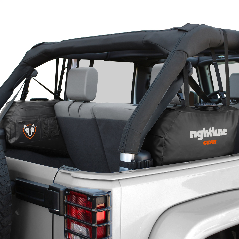 Rightline Gear 100J75-B Side Storage Bags Fits 07-18 Wrangler (JK)