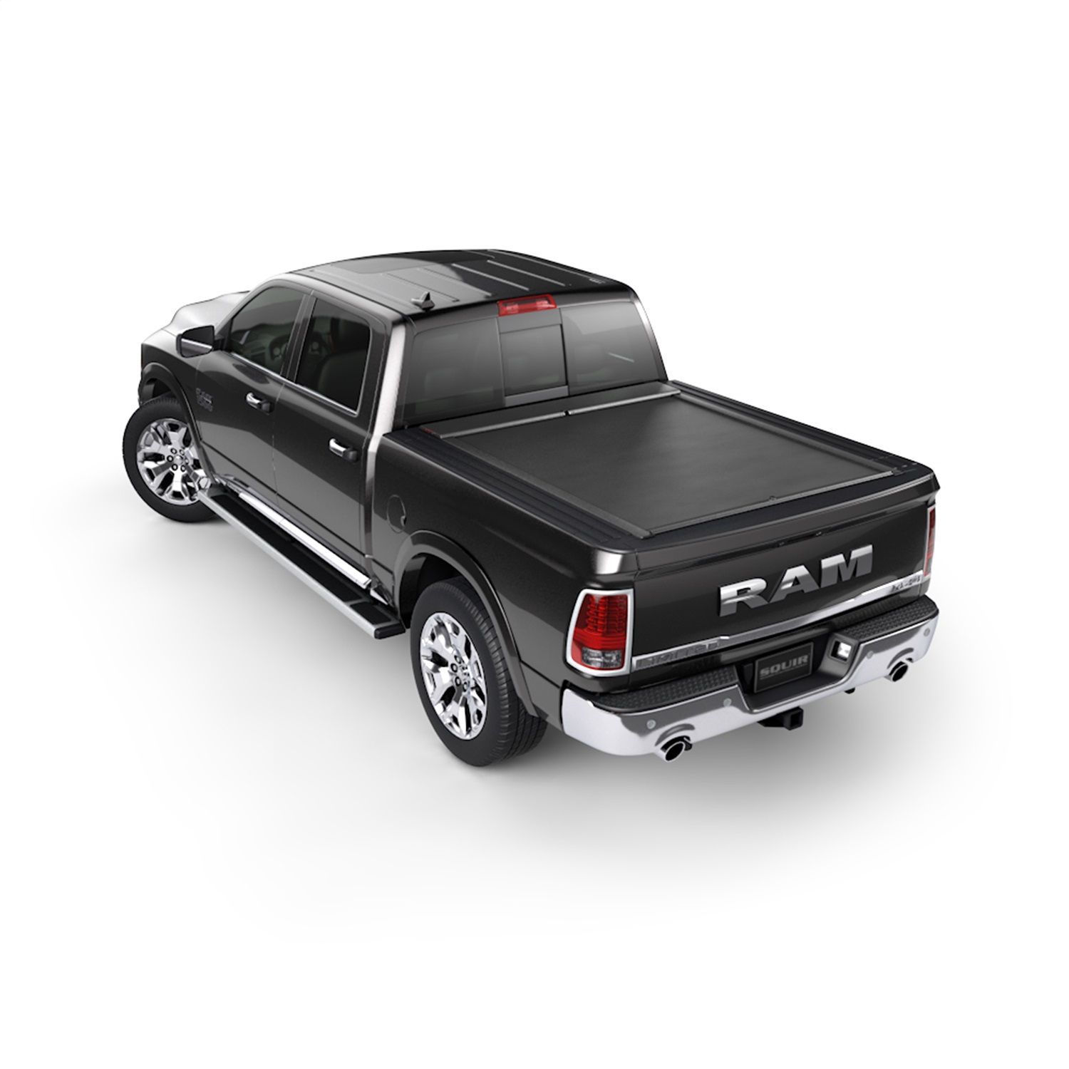 Roll-N-Lockr M-Series Truck Bed Cover, Manual Retractable, For Use w/Rambox Cargo Management System Only
