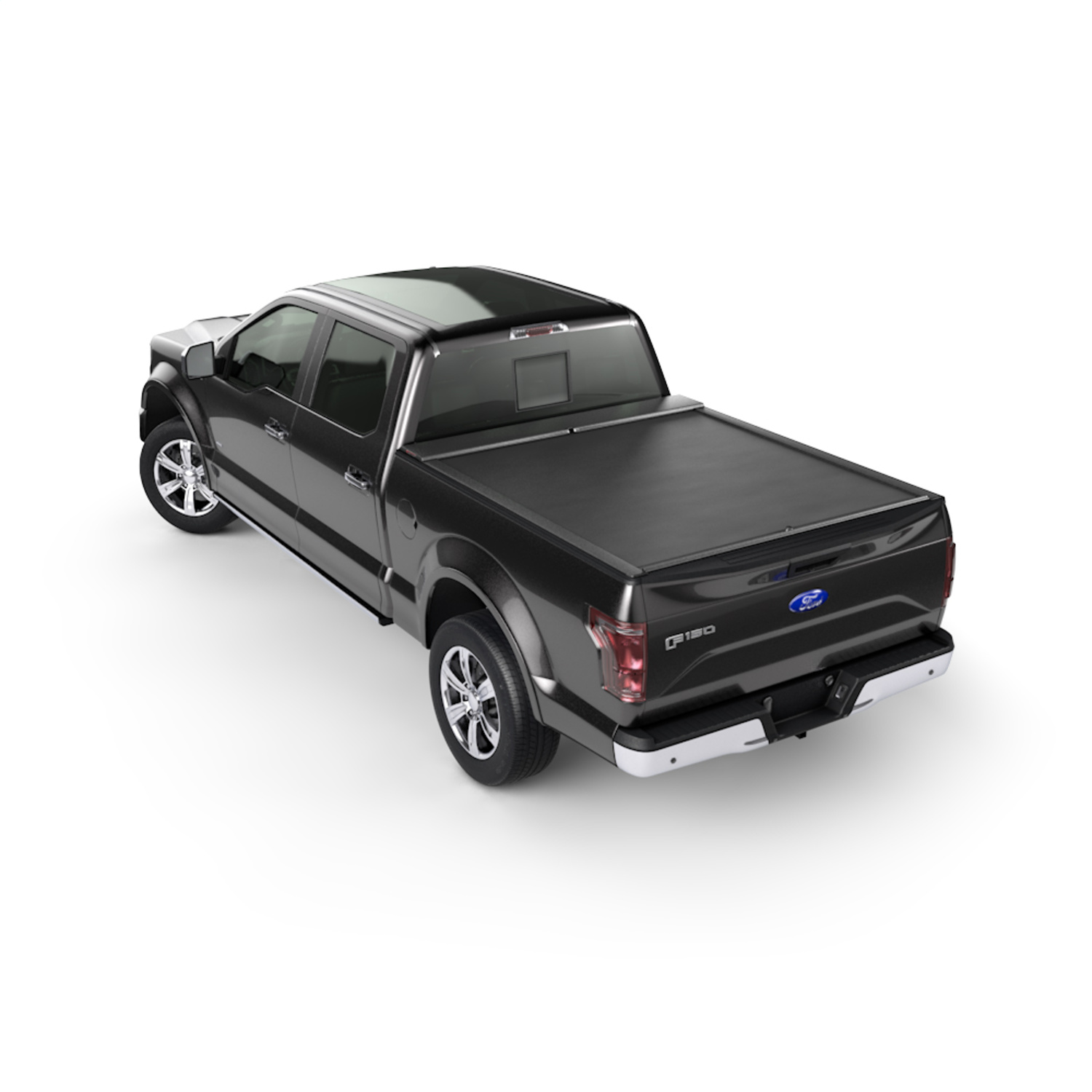 Roll-N-Lockr M-Series Truck Bed Cover, Manual Retractable
