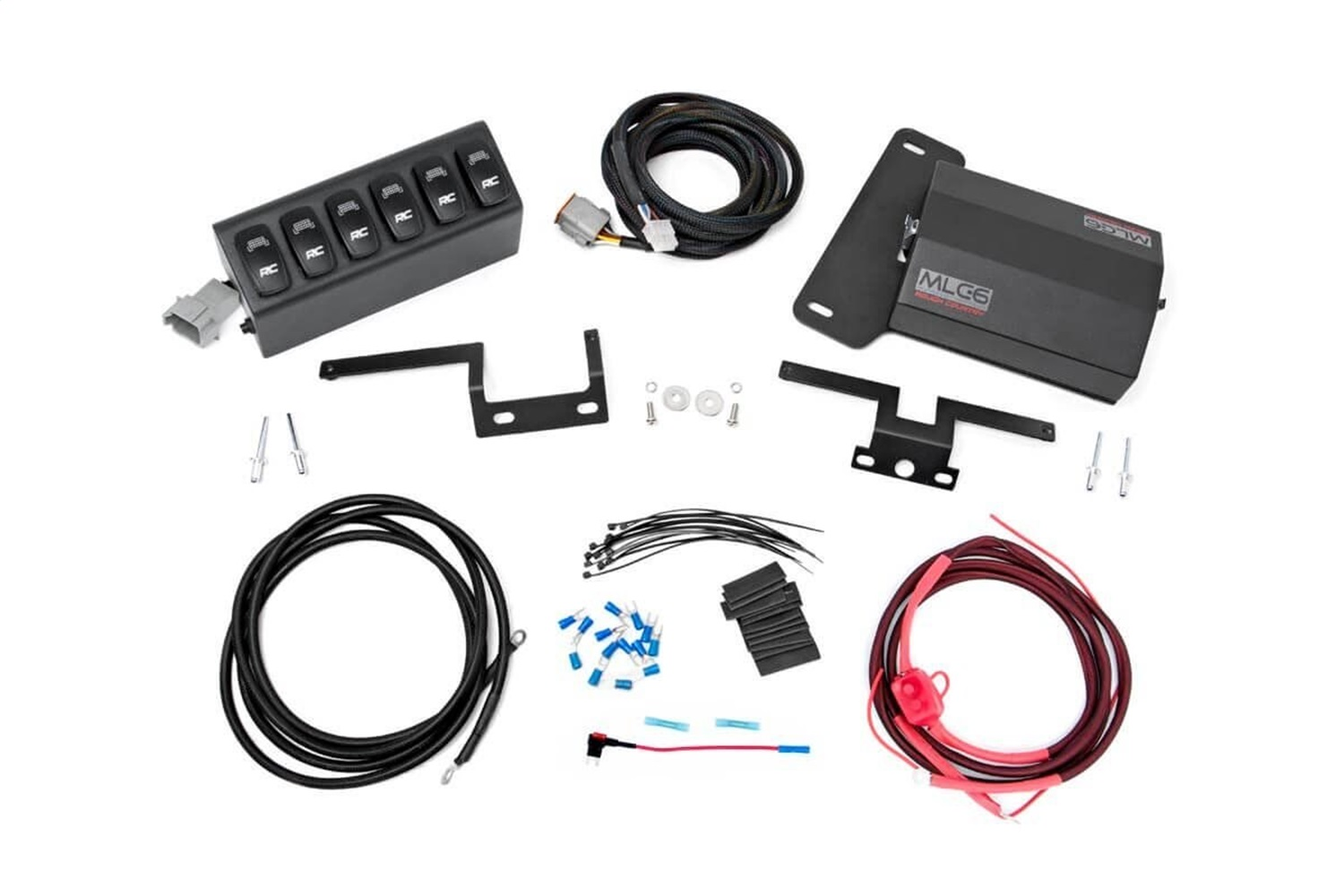 Rough Country 70959 MLC-6 Multiple Light Controller w/ 6-Switch Hub