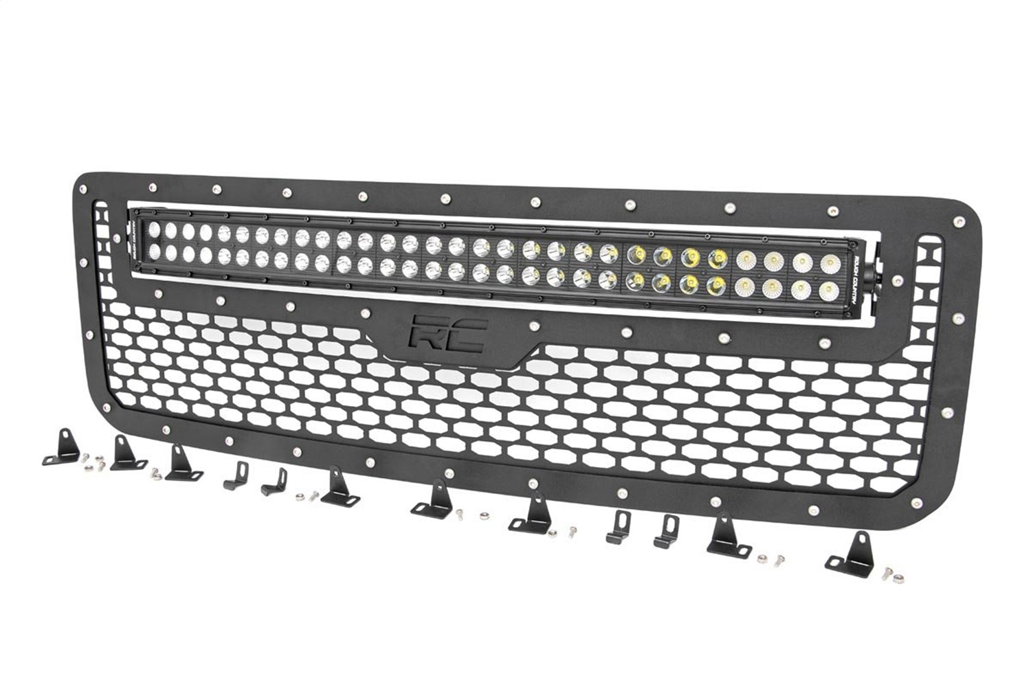 Rough Country 70219 Mesh Grille w/LED