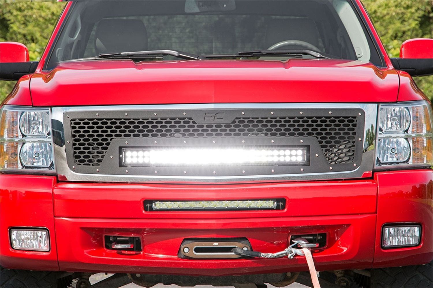 Rough Country 70196 Laser-Cut Mesh Replacement Grille