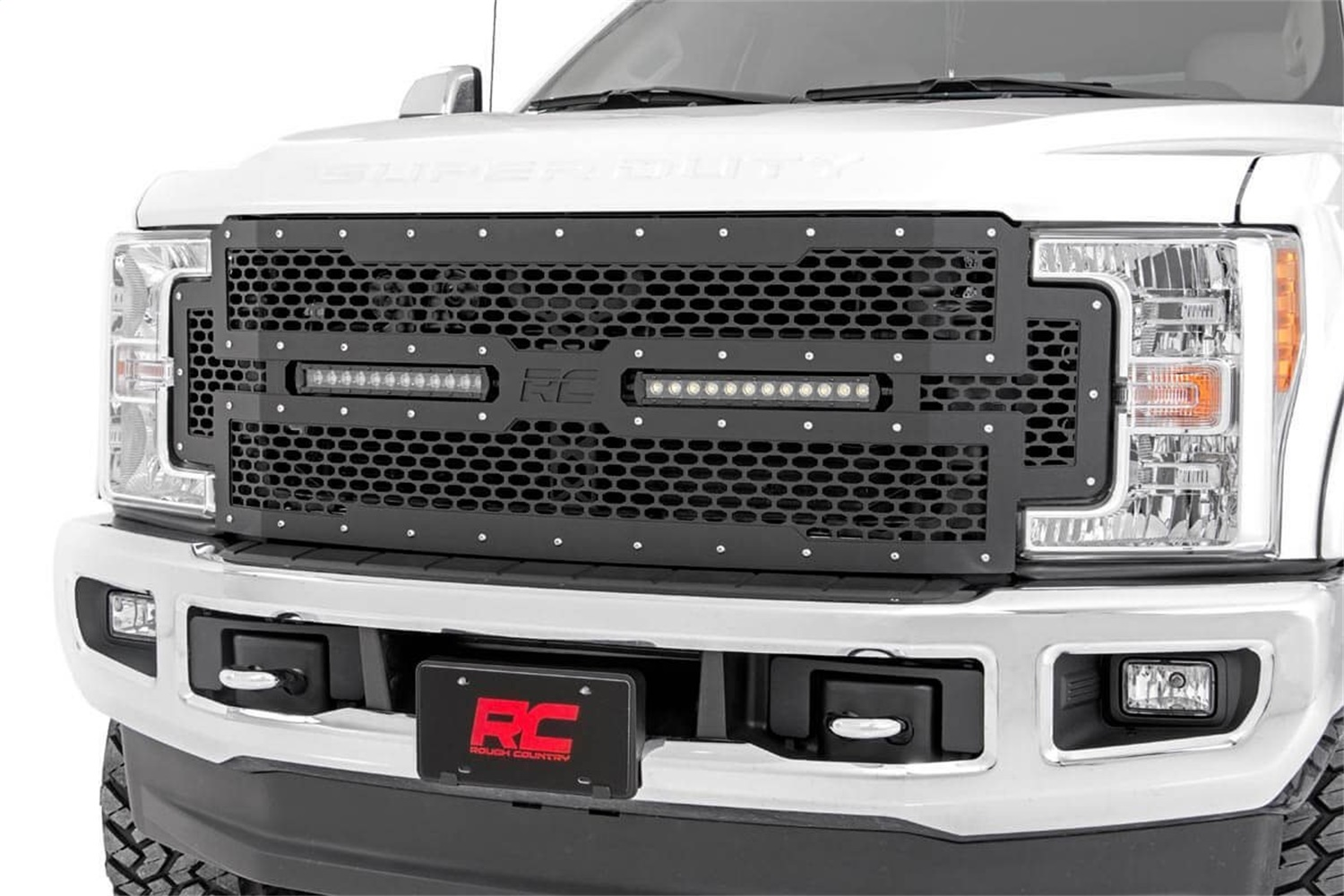 Rough Country 70216 Mesh Grille w/LED