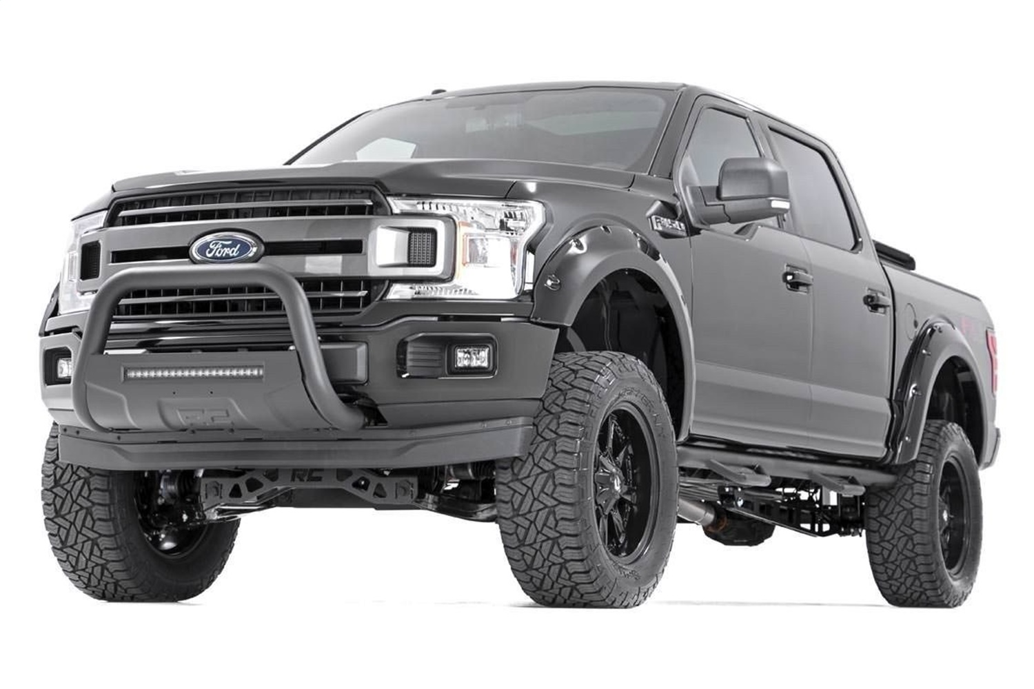 Rough Country F-F11811 Ford Pocket Fender Flares / Rivets (2018 F-150)