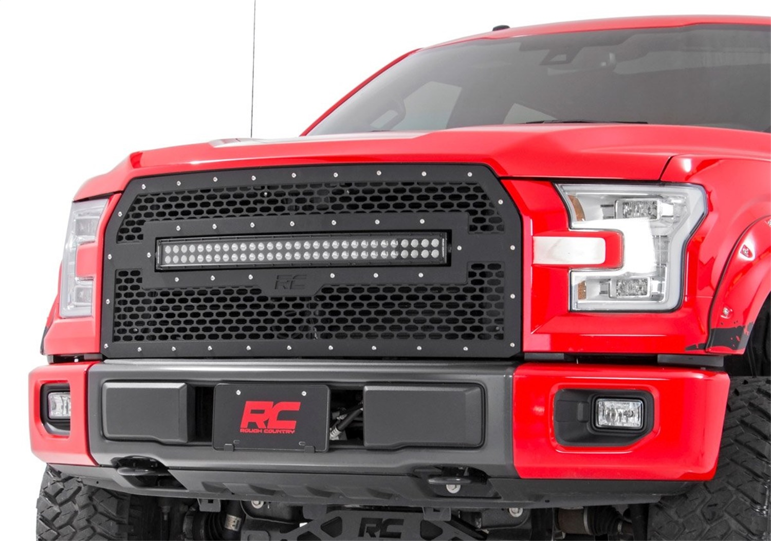 Rough Country 70193 Laser-Cut Mesh Replacement Grille