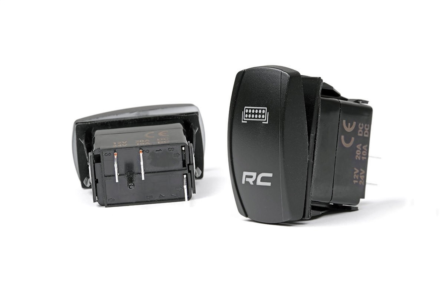 Rough Country 709SW Single (1) LED Backlit Rocker Switch