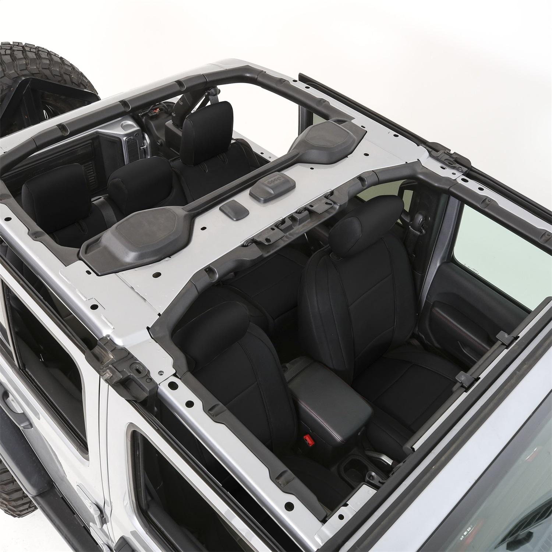 Smittybilt 472201 Neoprene Seat Cover Fits 18-20 Wrangler (JL)
