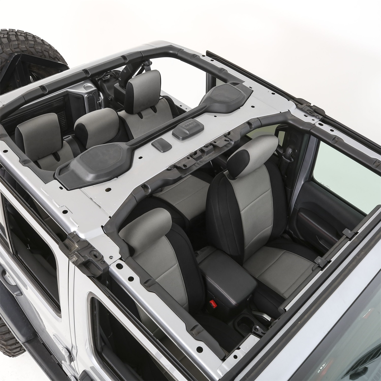 Smittybilt 472222 Neoprene Seat Cover Fits 18-20 Wrangler (JL)