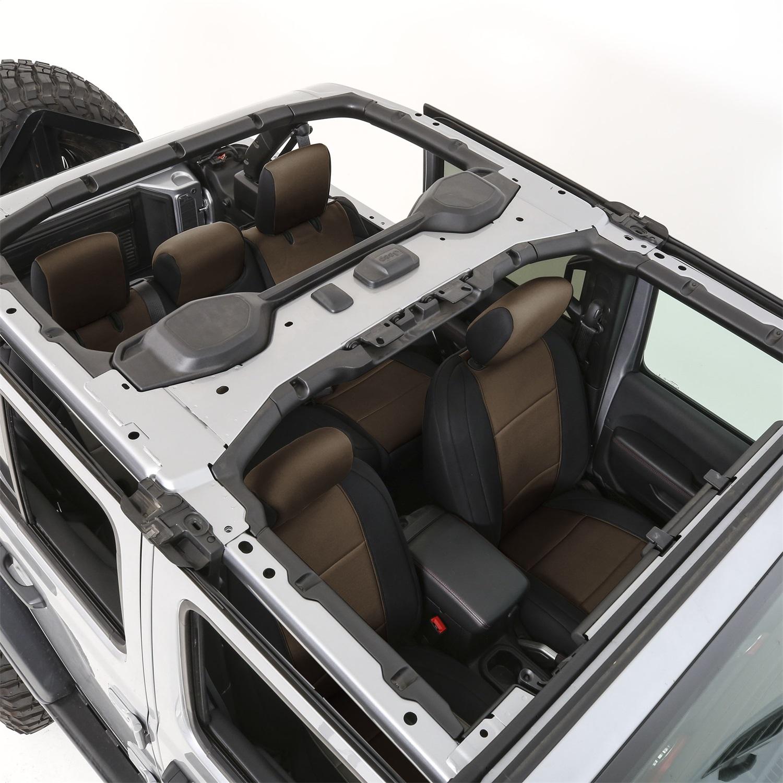 Smittybilt 472225 Neoprene Seat Cover Fits 18-20 Wrangler (JL)