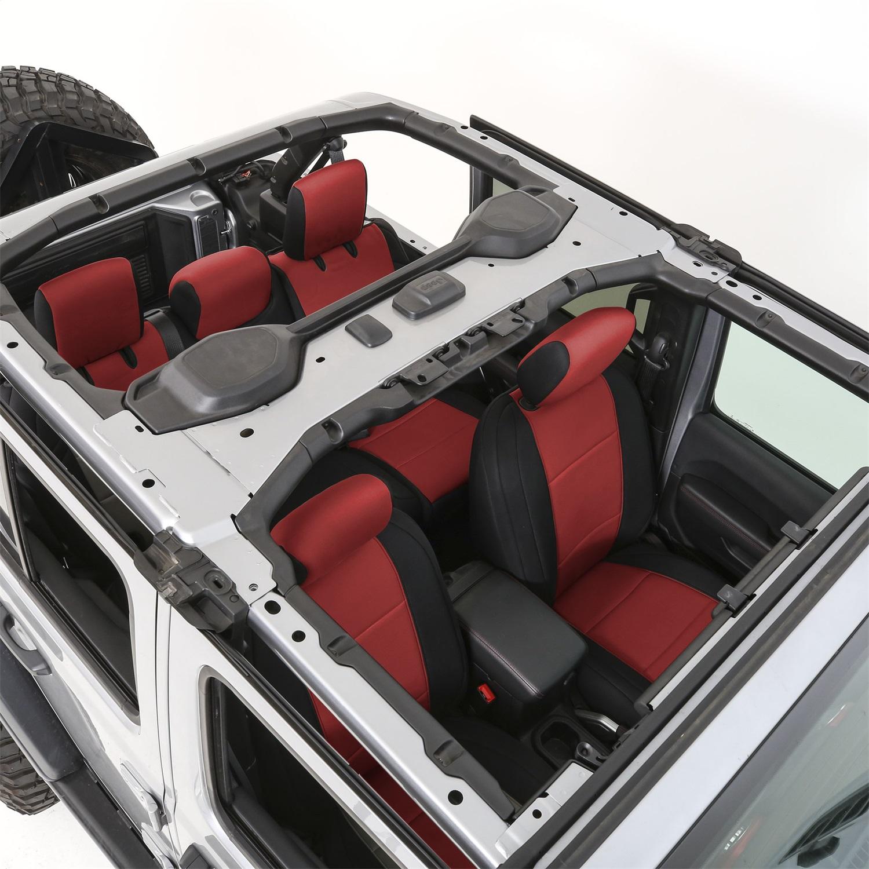 Smittybilt 472230 Neoprene Seat Cover Fits 18-20 Wrangler (JL)