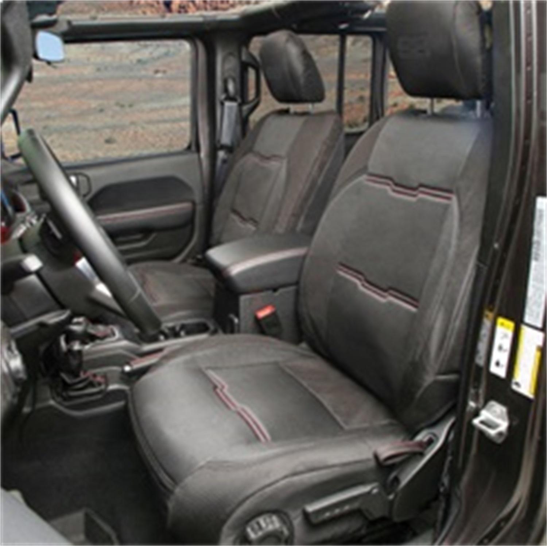 Smittybilt 577101 Neoprene Seat Cover Fits 18-20 Wrangler (JL)
