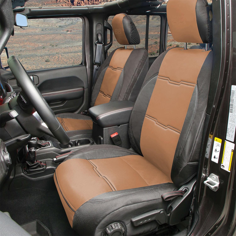 Smittybilt 577125 Neoprene Seat Cover Fits 18-20 Wrangler (JL)
