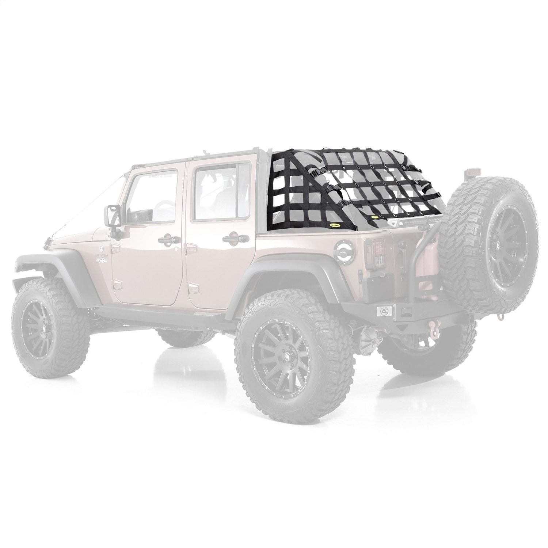 Smittybilt C.RES2 HD Restraint Cargo Net 07-17 Jeep Wrangler JK 4 Door 581135