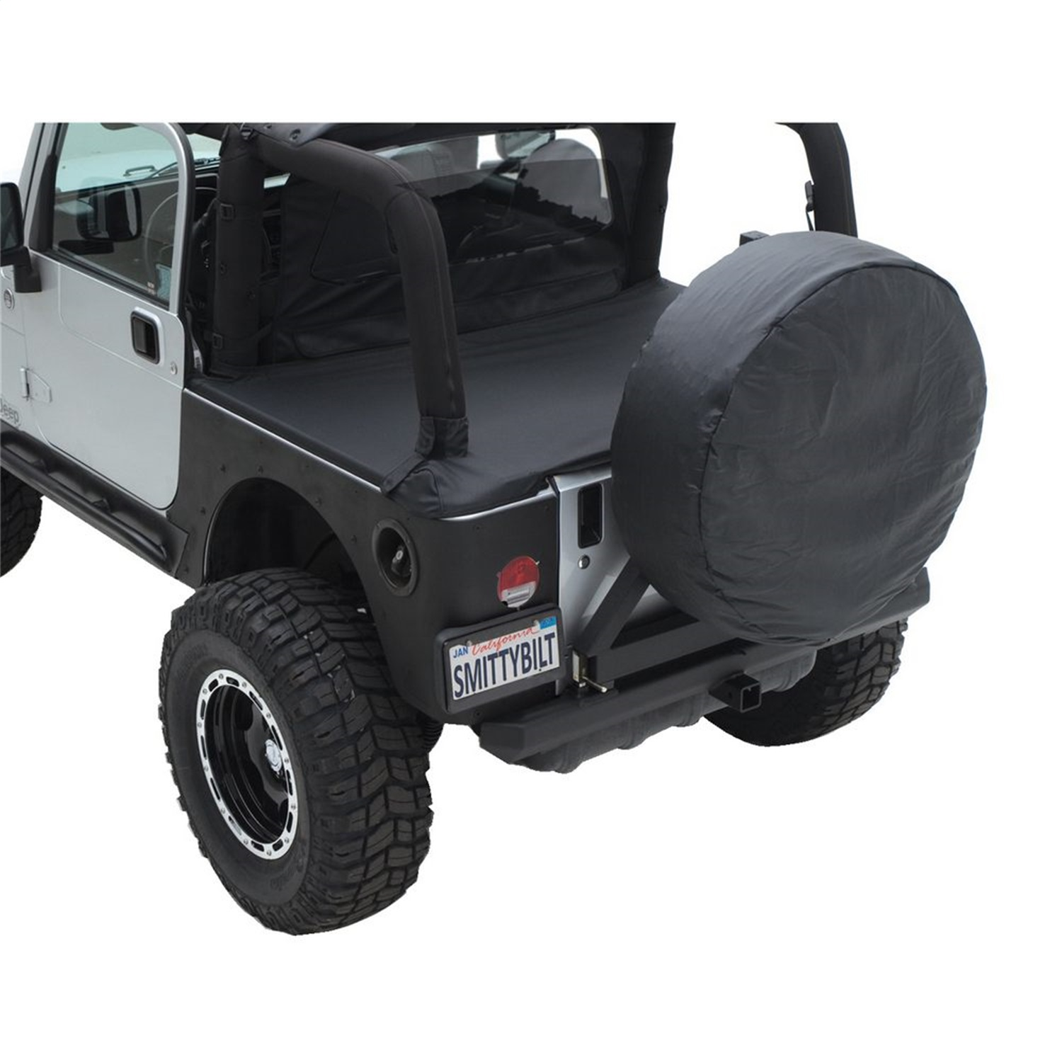 Smittybilt 761017 Tonneau Cover Fits 97 06 Wrangler Tj Spice Off Road Jeep Parts Diagram Sentinel