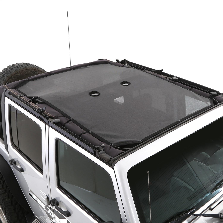 Smittybilt 95500 Cloak Extended Mesh Shade Top 2007-2018 Jeep Wrangler JK 4dr.