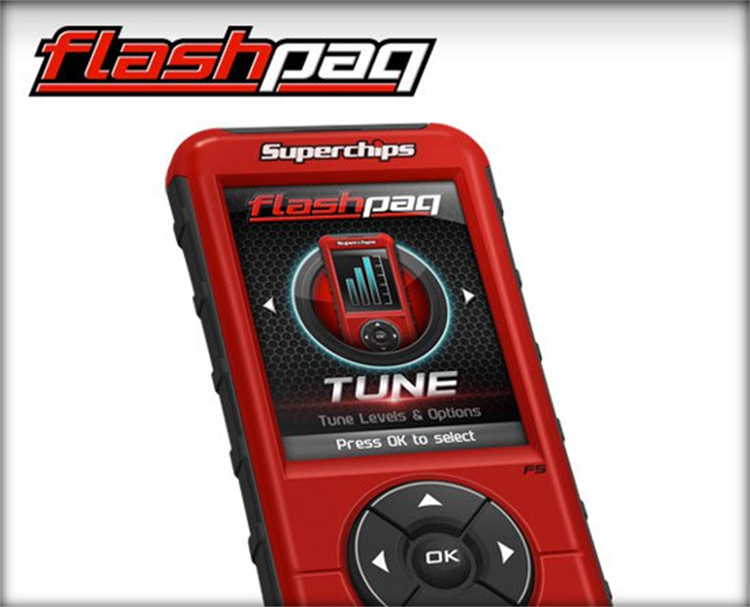 Flashpaq F5 Programmer, Industry Leading Handheld Tuner, California Edition