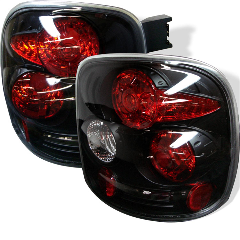Spyder Auto 5002105 Euro Style Tail Lights Fits 99-04 Silverado 1500