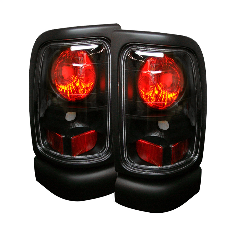 Spyder Auto 5002662 Euro Style Tail Lights Fits 94-02 Ram 1500 Ram 2500 Ram 3500
