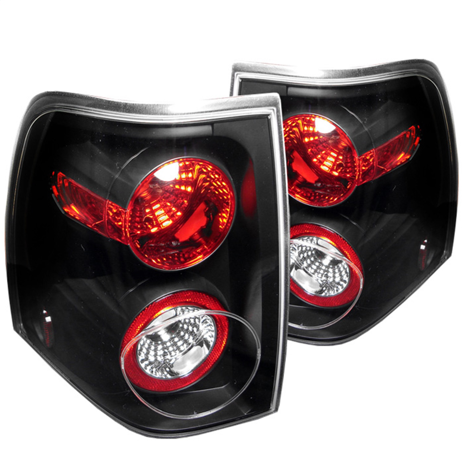 Spyder Auto 5002792 Euro Style Tail Lights Fits 03-06 Expedition