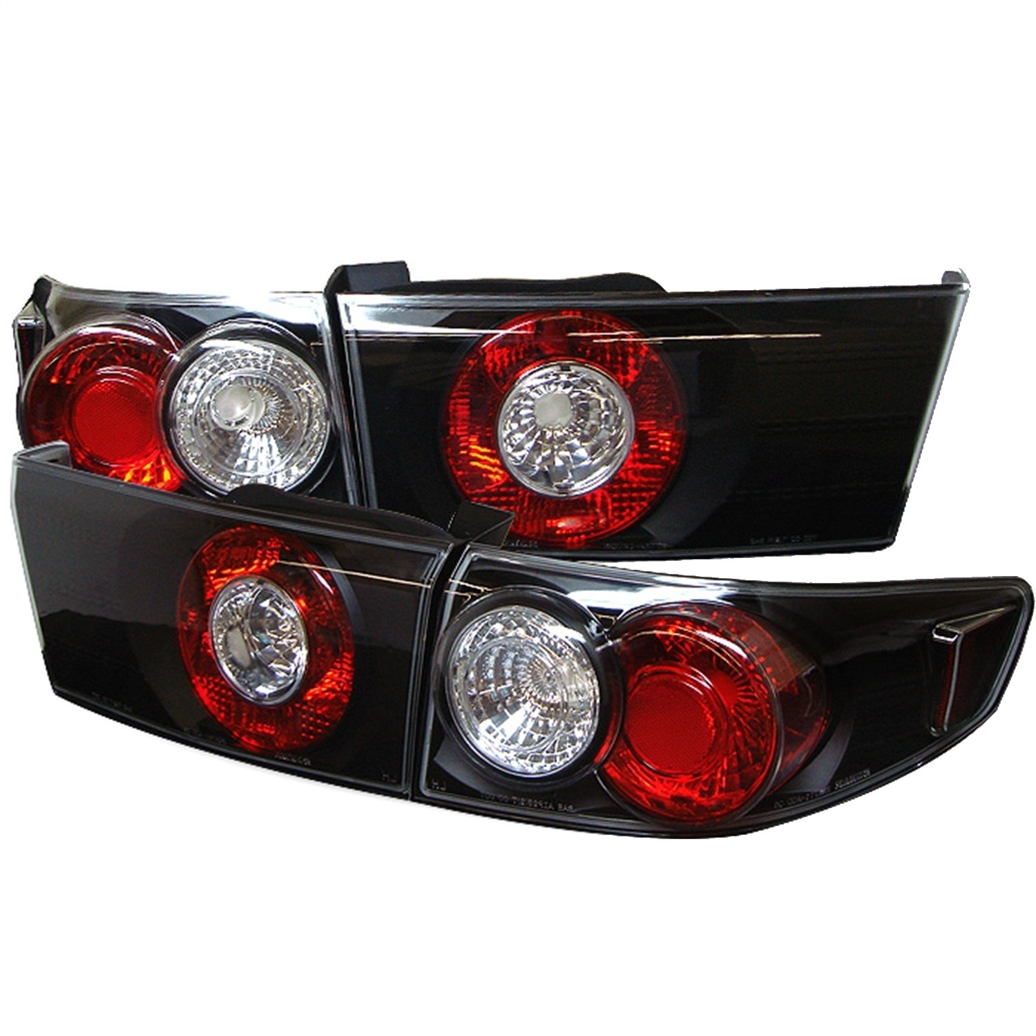 Spyder Auto 5003980 Euro Style Tail Lights Fits 03-05 Accord