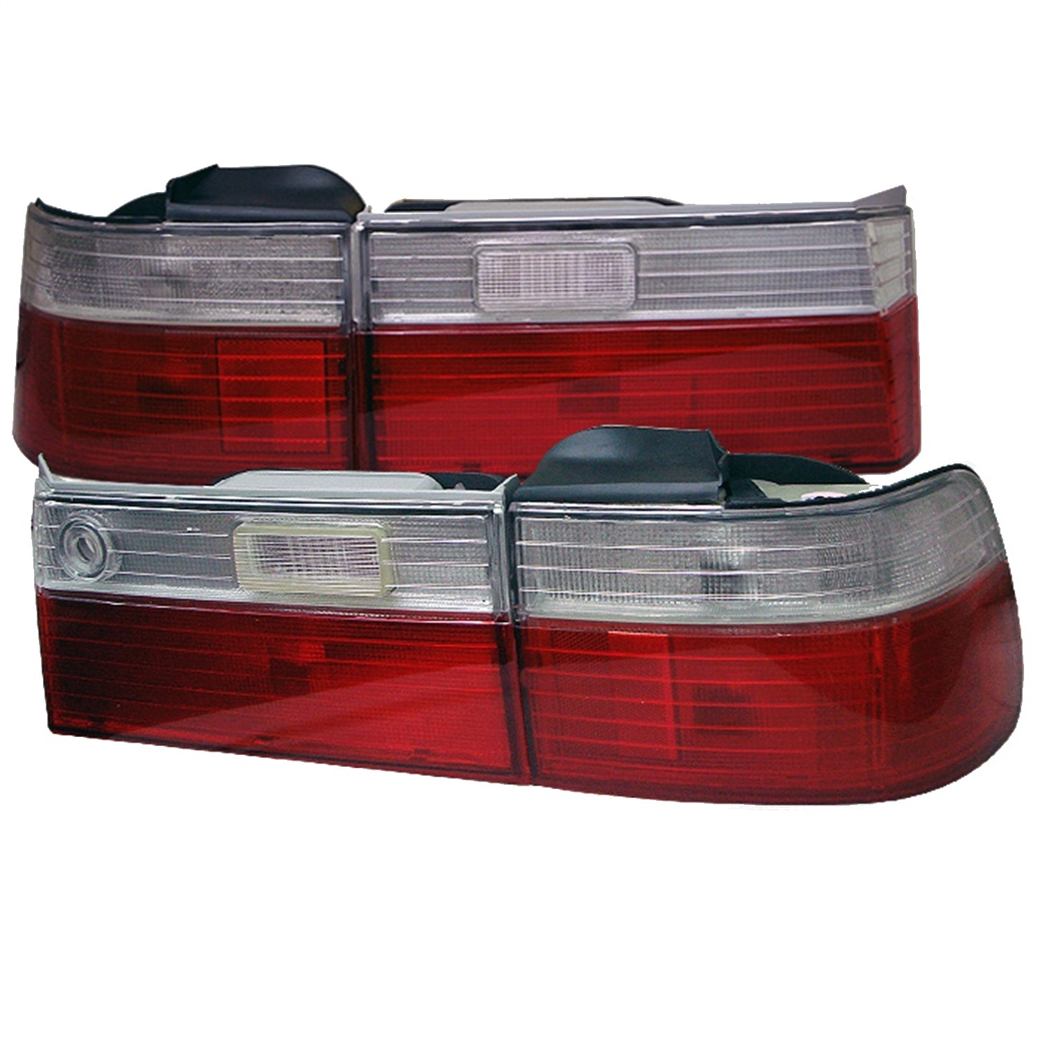 Spyder Auto 5004062 Euro Style Tail Lights Fits 90-91 Accord