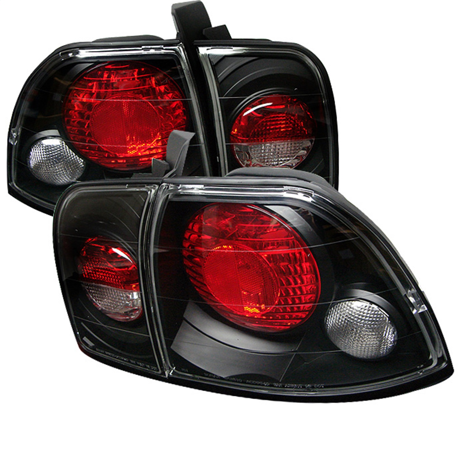 Spyder Auto 5004215 Euro Style Tail Lights Fits 96-97 Accord