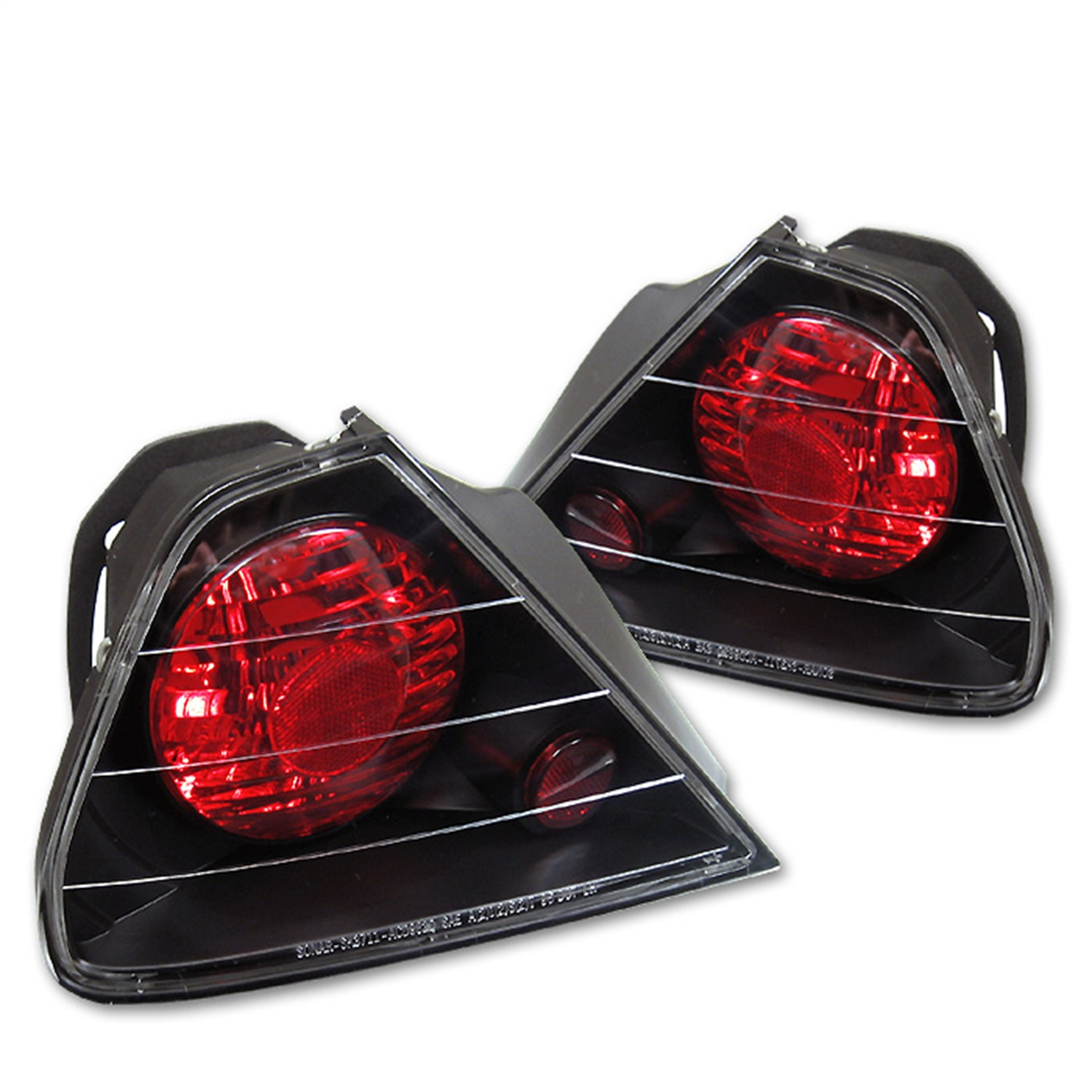 Spyder Auto 5004253 Euro Style Tail Lights Fits 98-00 Accord