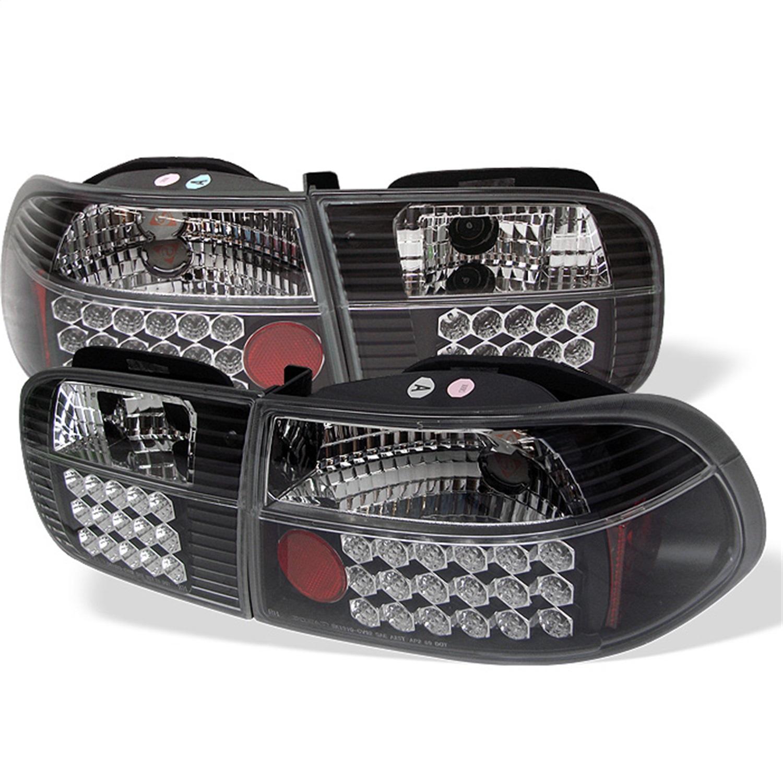 Spyder Auto 5004628 LED Tail Lights Fits 92-95 Civic