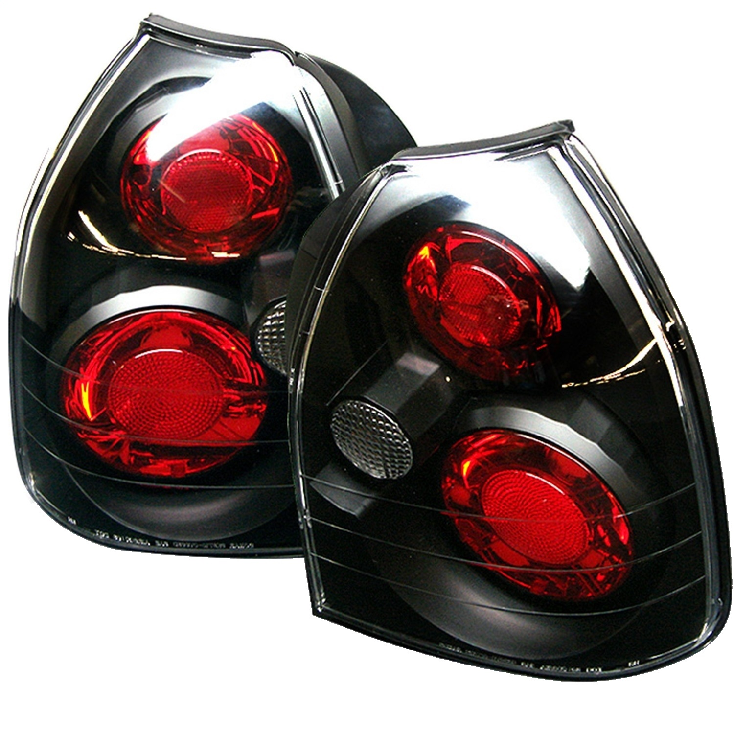 Spyder Auto 5004895 Euro Style Tail Lights Fits 96-00 Civic
