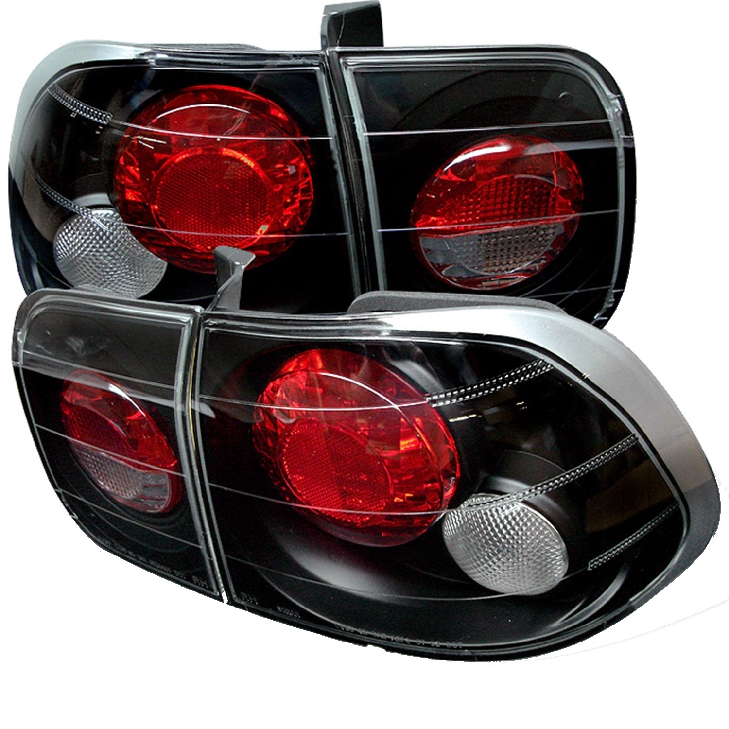Spyder Auto 5004970 Euro Style Tail Lights Fits 96-98 Civic