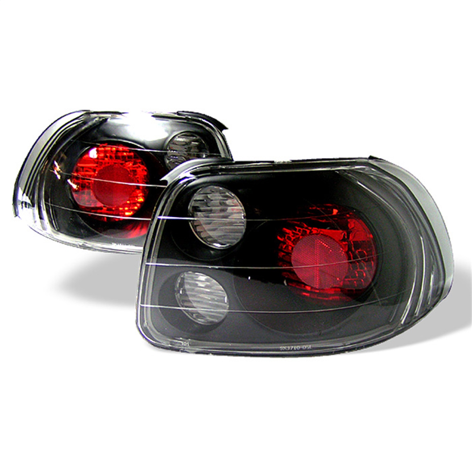 Spyder Auto 5005168 Euro Style Tail Lights Fits 93-97 Civic del Sol