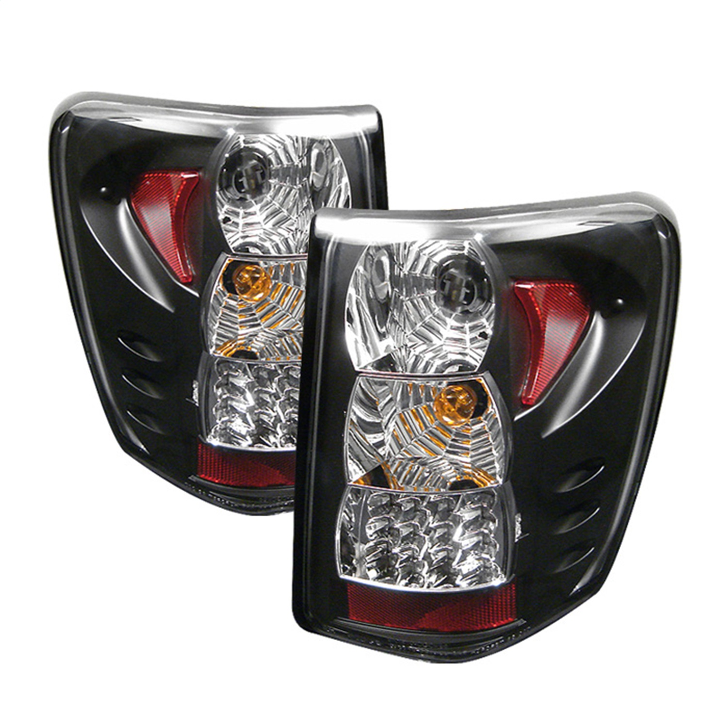 Spyder Auto 5005663 LED Tail Lights Fits 99-04 Grand Cherokee