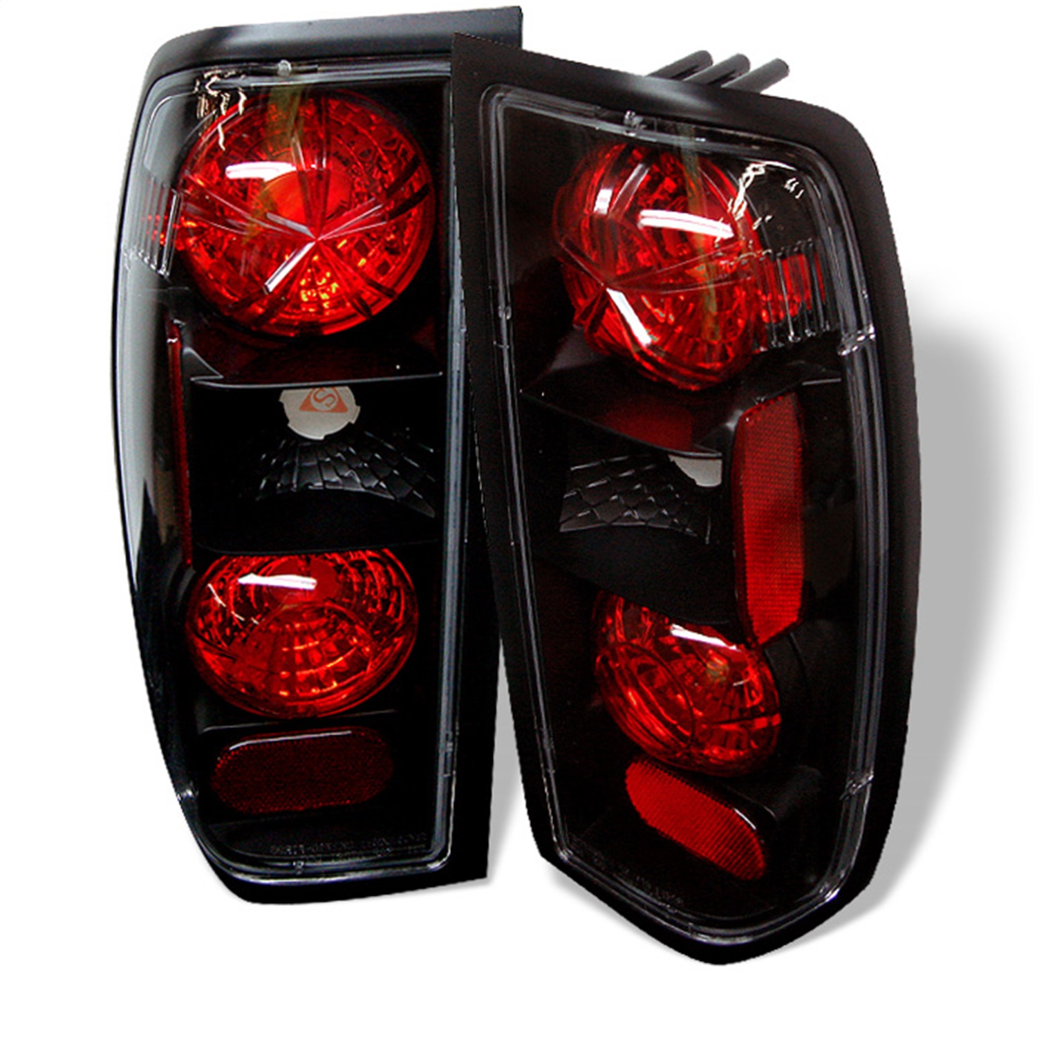 Spyder Auto 5006837 Euro Style Tail Lights Fits 98-00 Frontier