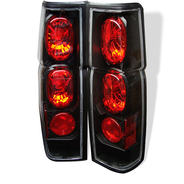 Spyder Auto 5006875 Euro Style Tail Lights Fits 86-97 D21 Pickup (Hard Body)