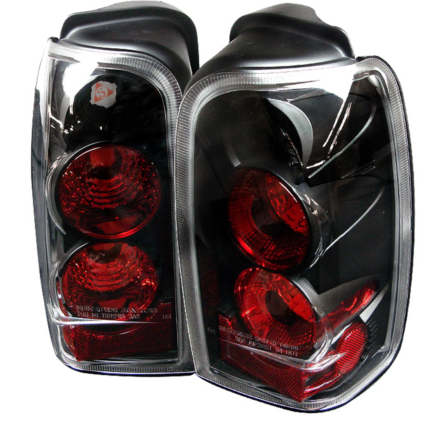 Spyder Auto 5007292 Euro Style Tail Lights Fits 96-02 4Runner
