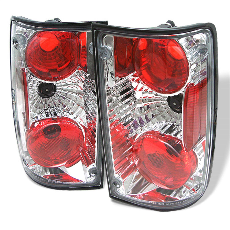 Spyder Auto 5007643 Euro Style Tail Lights Fits 89-95 Hilux Pickup