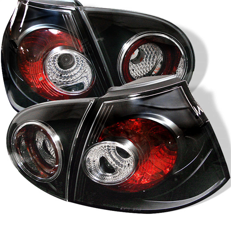 Spyder Auto 5008152 Euro Style Tail Lights Fits 06-09 Rabbit