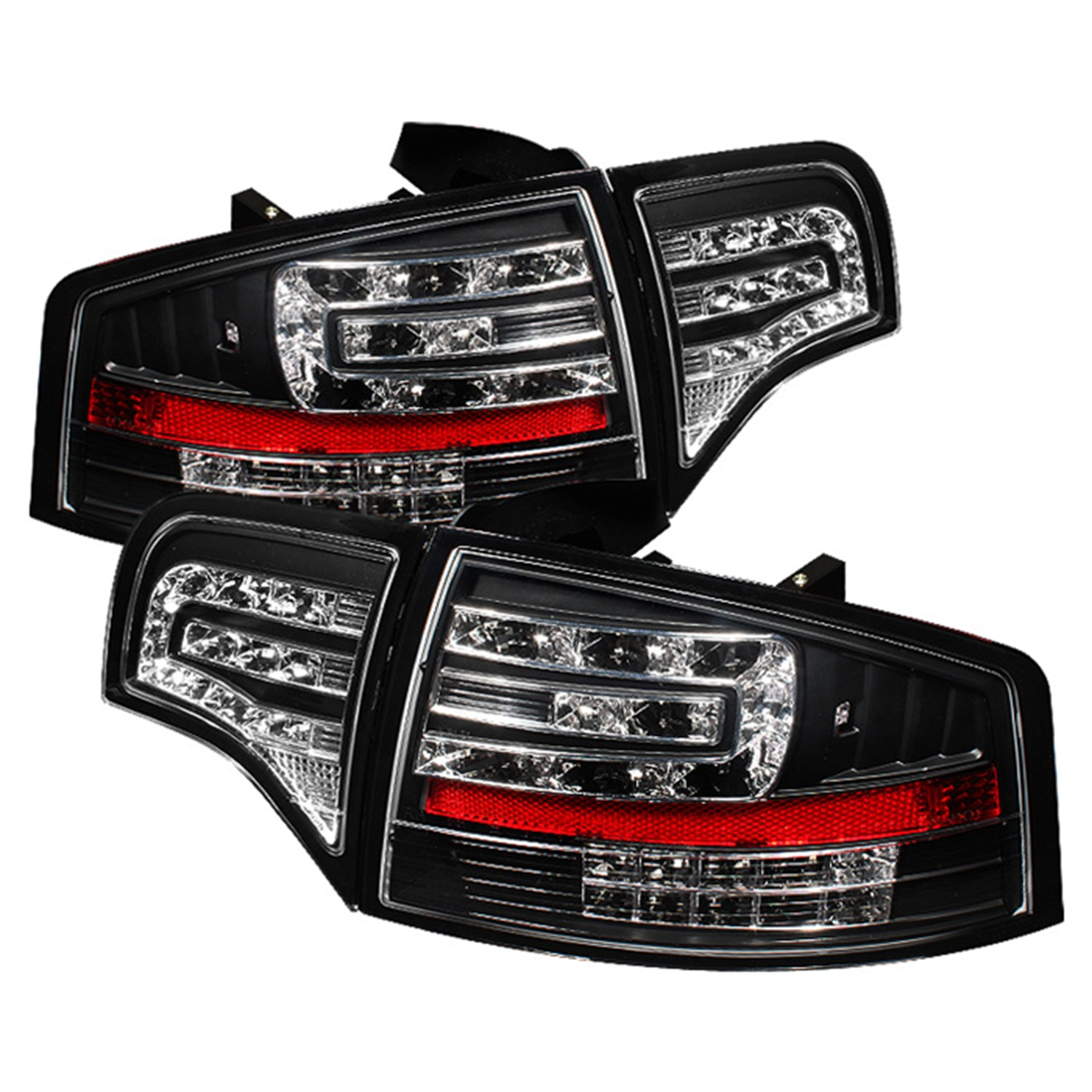 Spyder Auto 5029287 LED Tail Lights Fits 06-08 A4 A4 Quattro