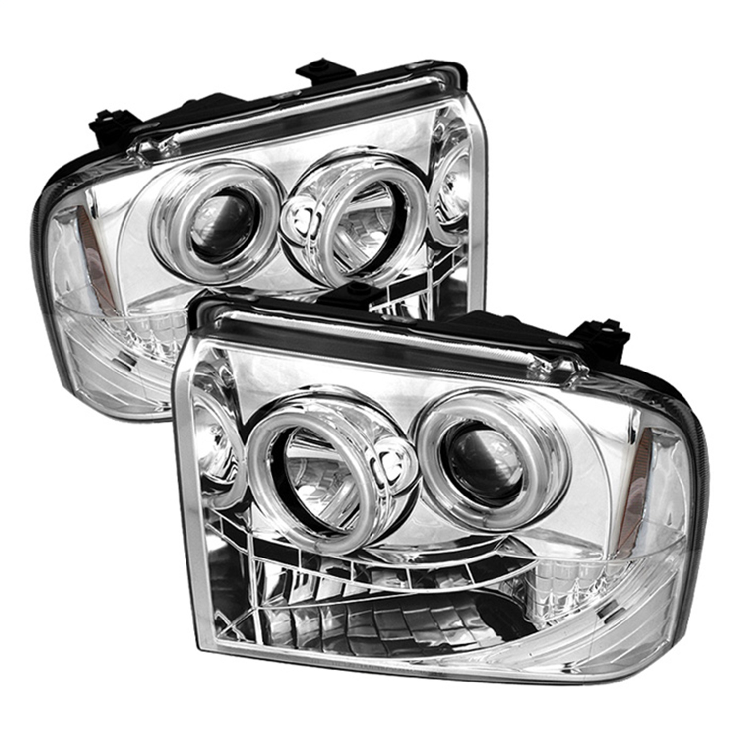 Spyder Auto 5030153 CCFL LED Projector Headlights