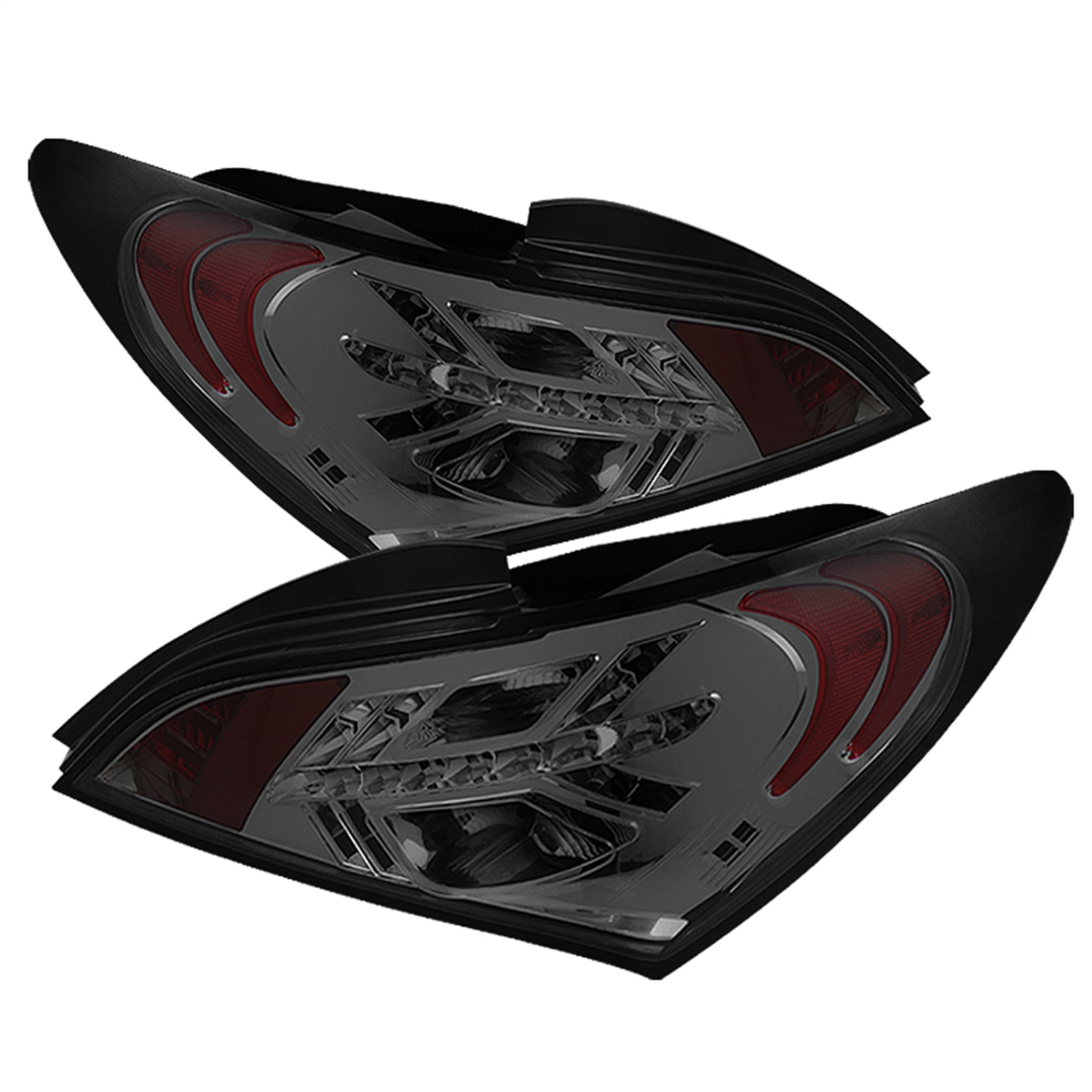 Spyder Auto 5036858 LED Tail Lights Fits 10-12 Genesis Coupe