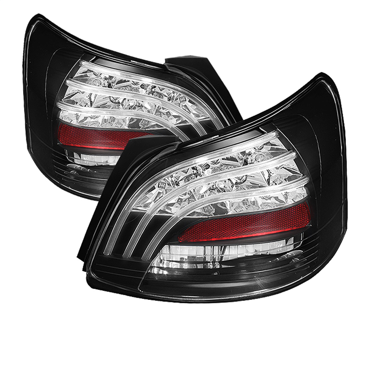 Spyder Auto 5037640 LED Tail Lights Fits 07-09 Yaris
