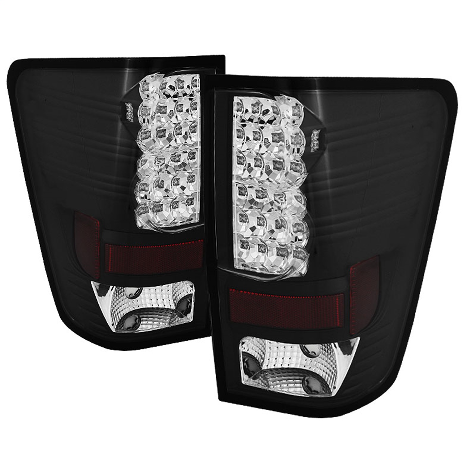 Spyder Auto 5070067 LED Tail Lights Fits 04-15 Titan