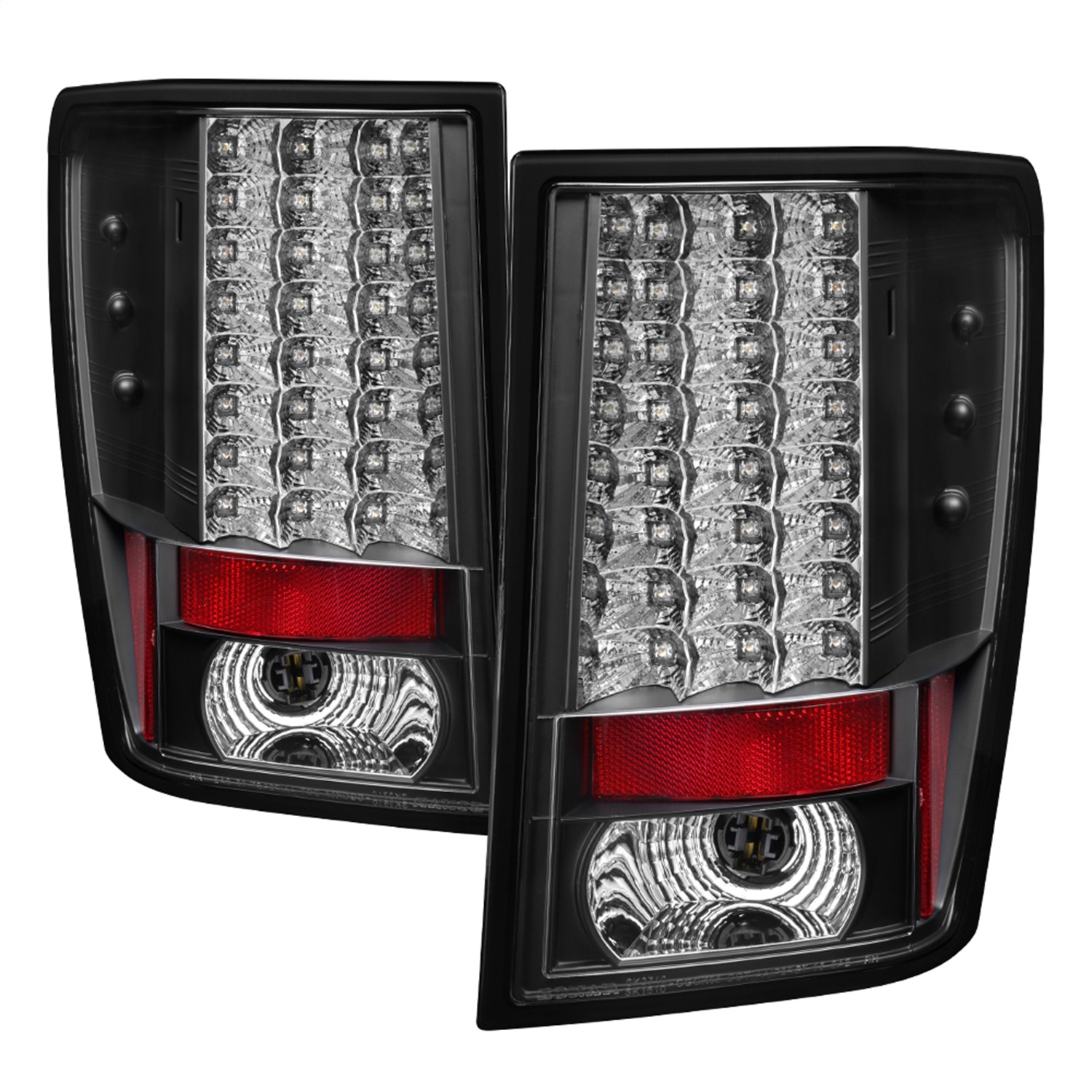 Spyder Auto 5070197 LED Tail Lights Fits 07-10 Grand Cherokee