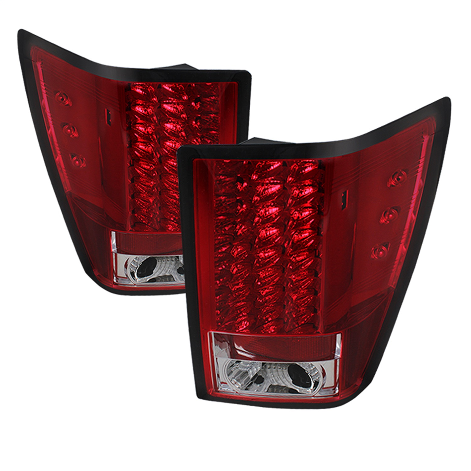 Spyder Auto 5070203 LED Tail Lights Fits 07-10 Grand Cherokee