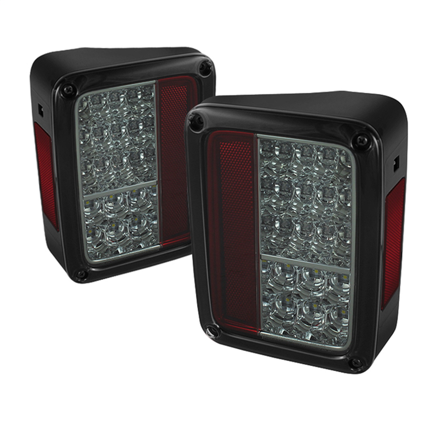 Spyder Auto 5070418 LED Tail Lights Fits 07-18 Wrangler (JK)