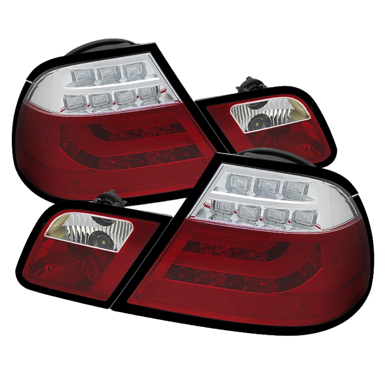 Spyder Auto 5073822 Light Bar LED Tail Lights Fits 323Ci 325Ci 328Ci 330Ci M3