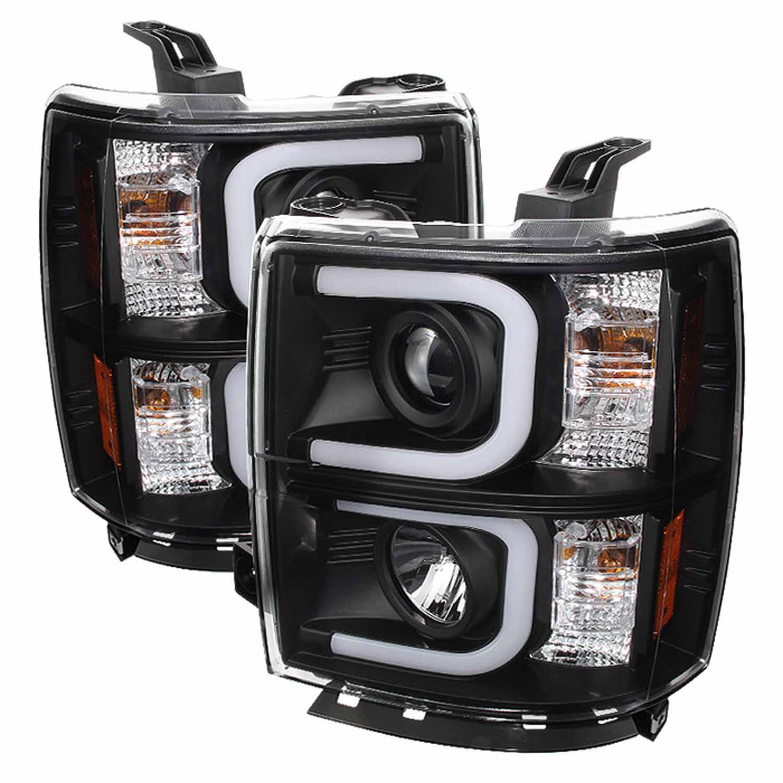 Spyder Auto 5079473 Projector Headlights Fits 14-15 Silverado 1500